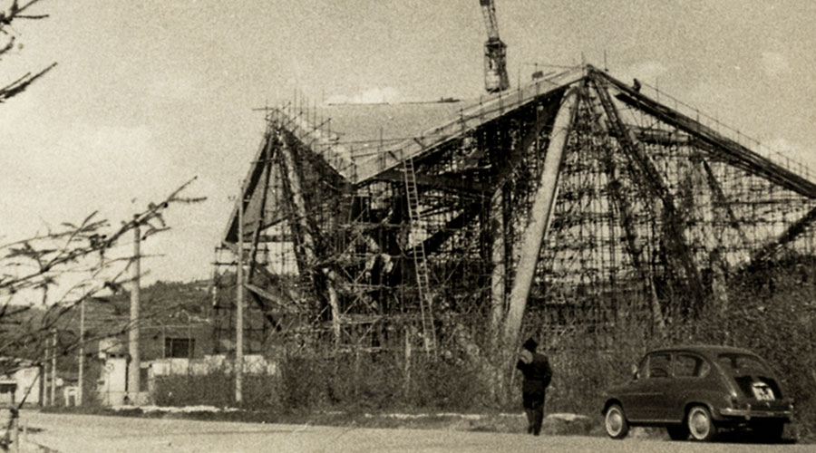 The church of Longuelo by Pino Pizzigoni. An unknown example of outstanding structure