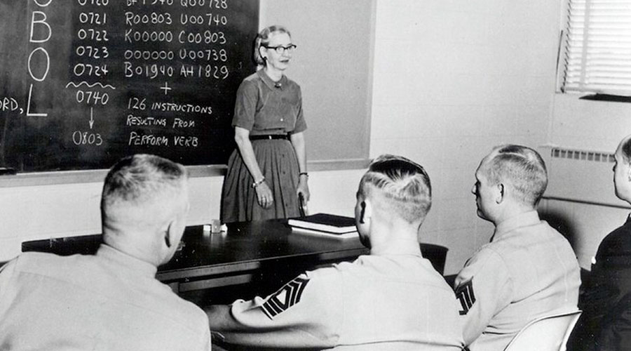Grace Hopper and Grasshopper: what a coincidence!