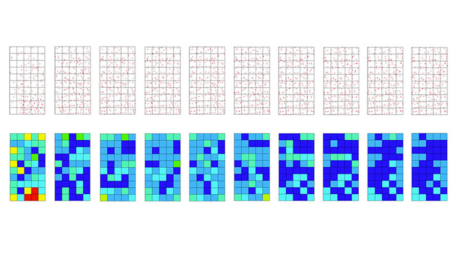 Acoustic optimisation of folded-plate roofs