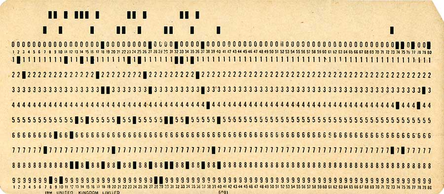 Punch Card Opt